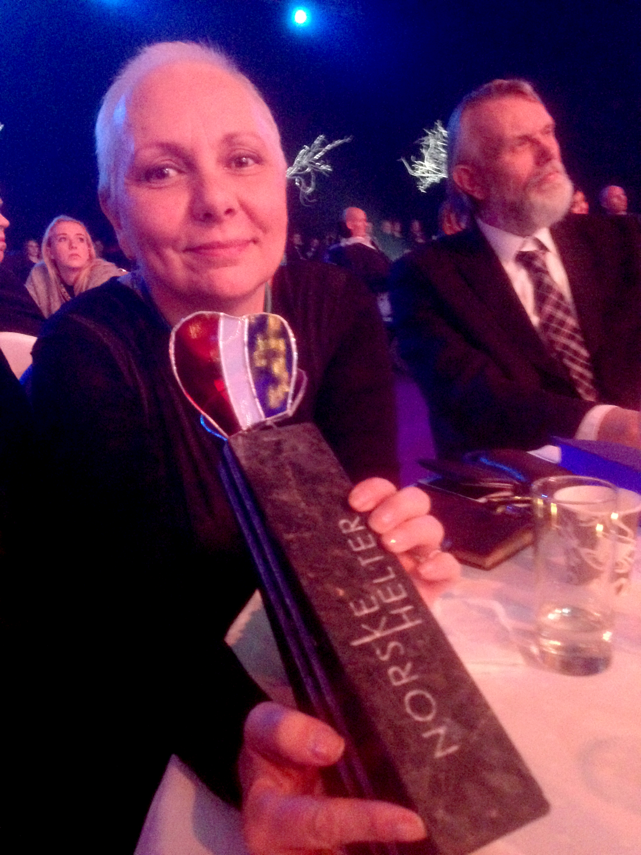 Foto: meg med prisen