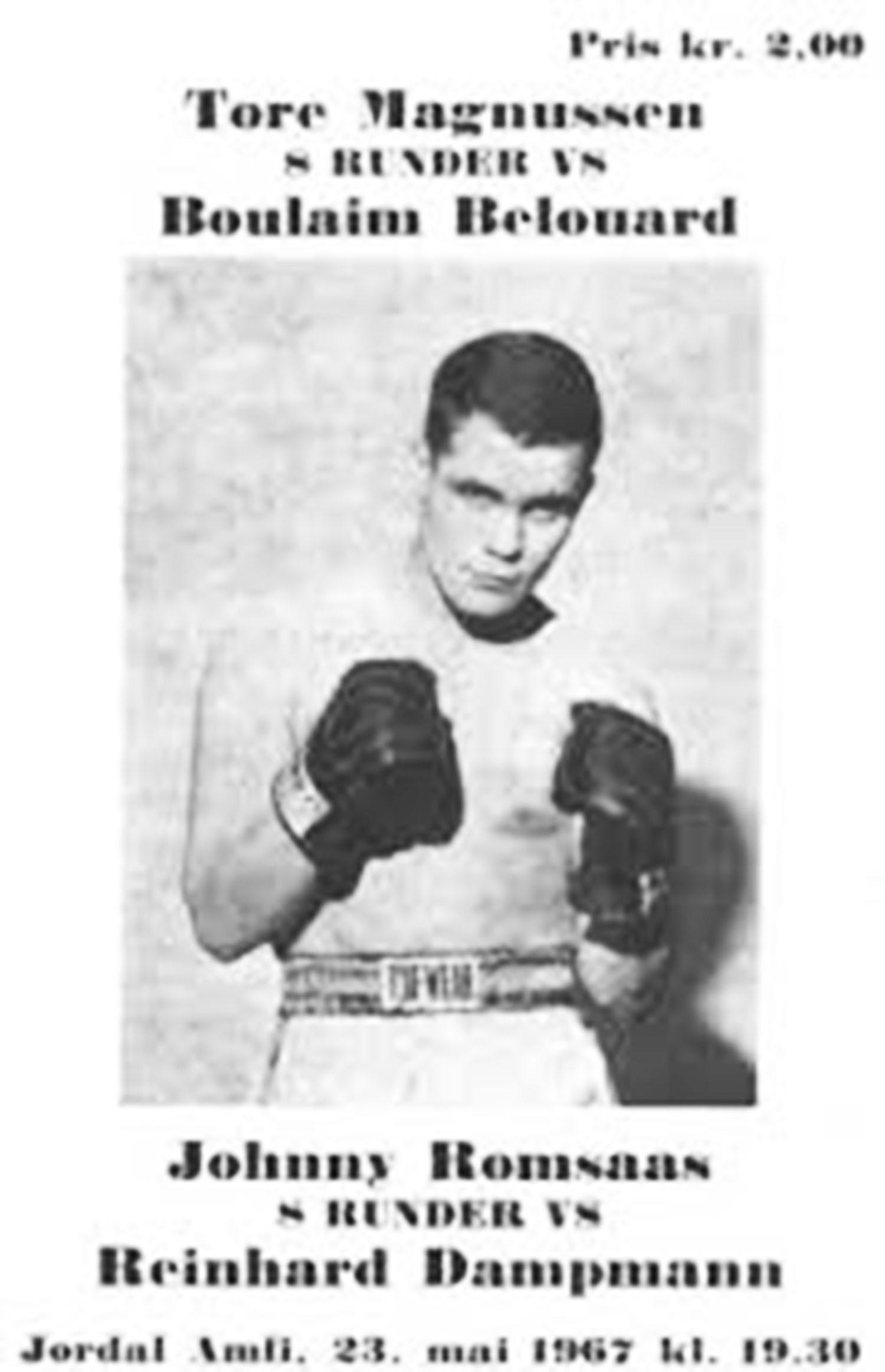 Johnny Romsaas 8 februar 1940-i 23. september 2003