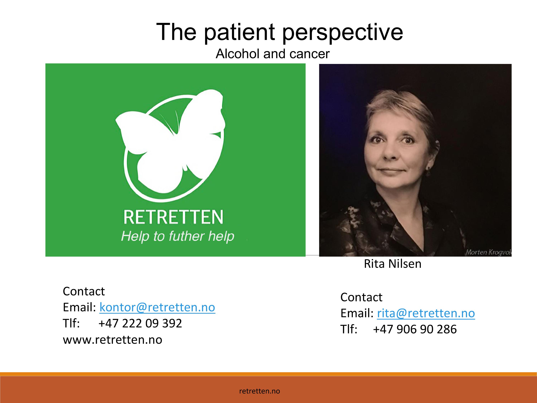 AWARH 2017, Rita Nilsen