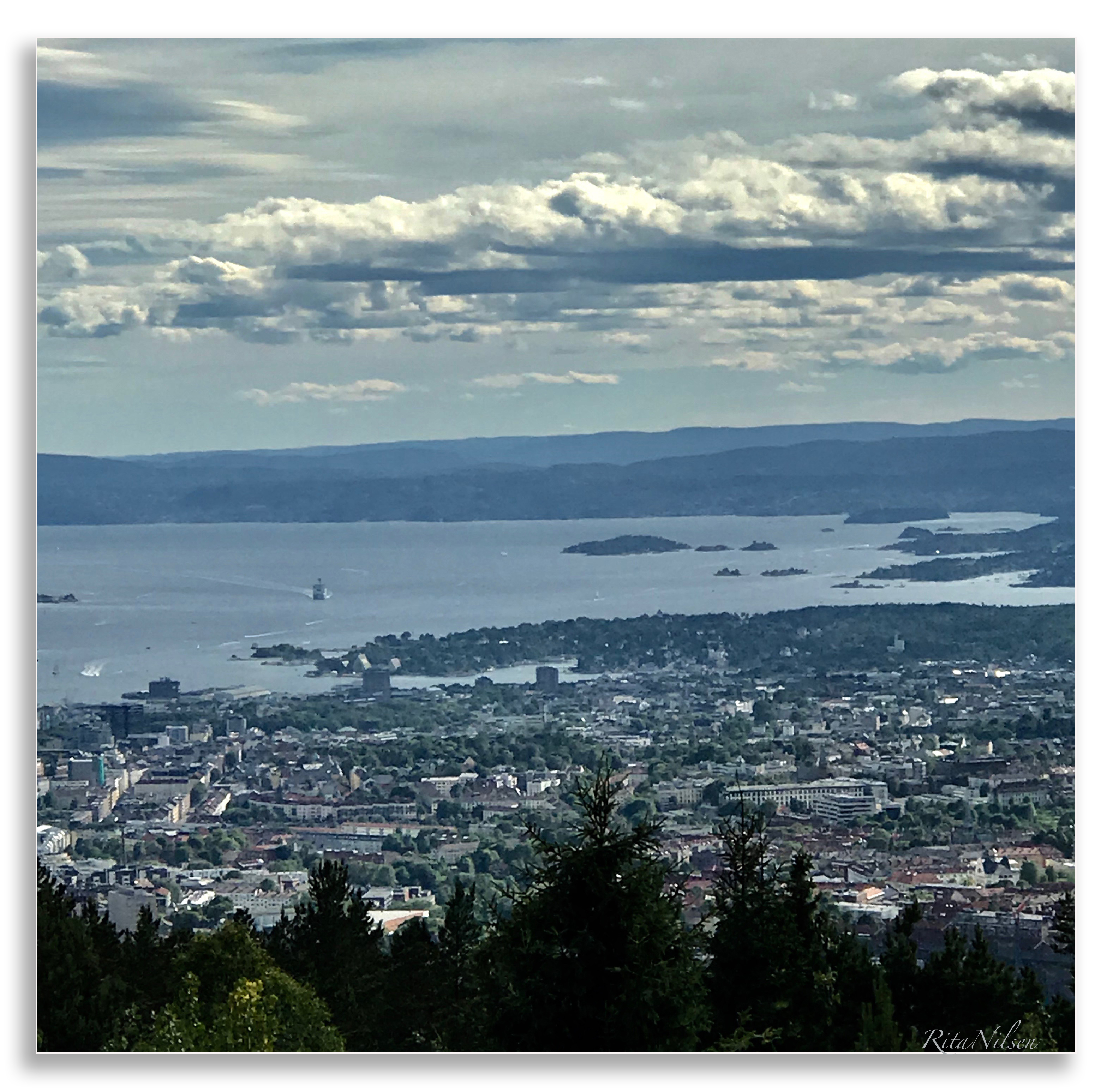 over Oslo juni18